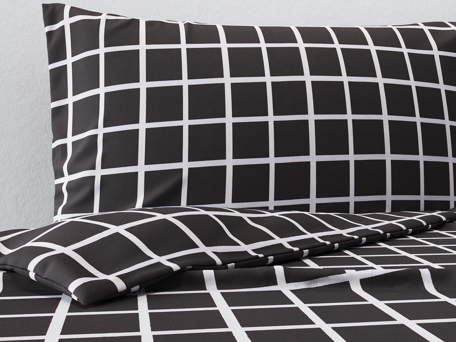 Комплект постельного белья Коричневая клетка