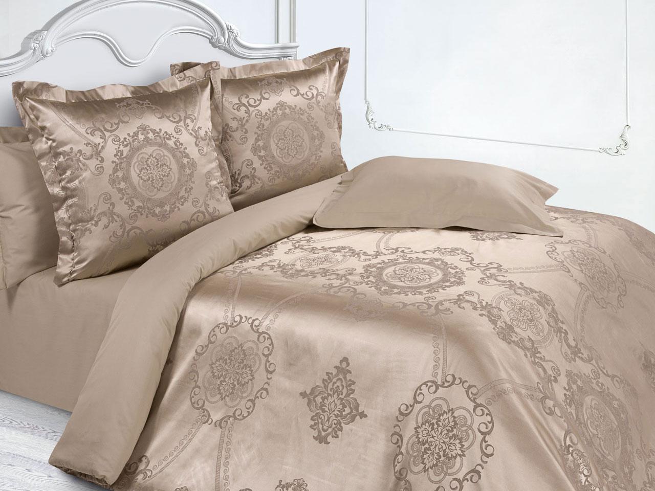 Комплект постельного белья Цветочный вензель