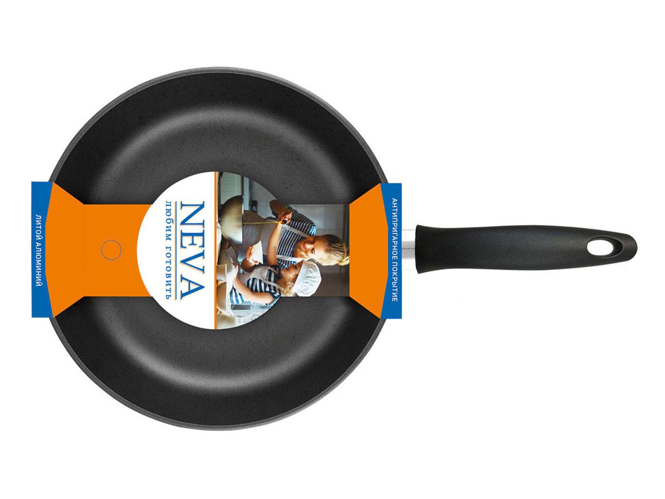 Сковорода Neva Black 24 см