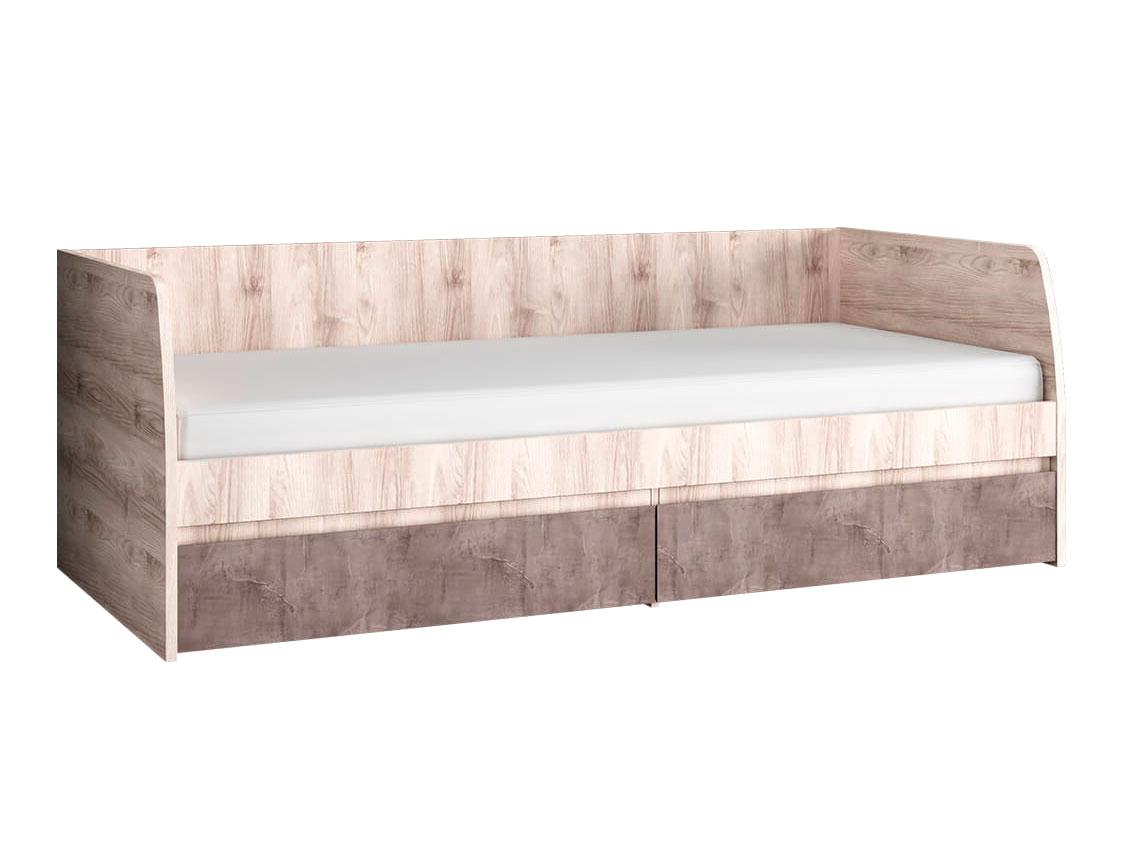 Односпальная кровать Джаз с двумя ящиками