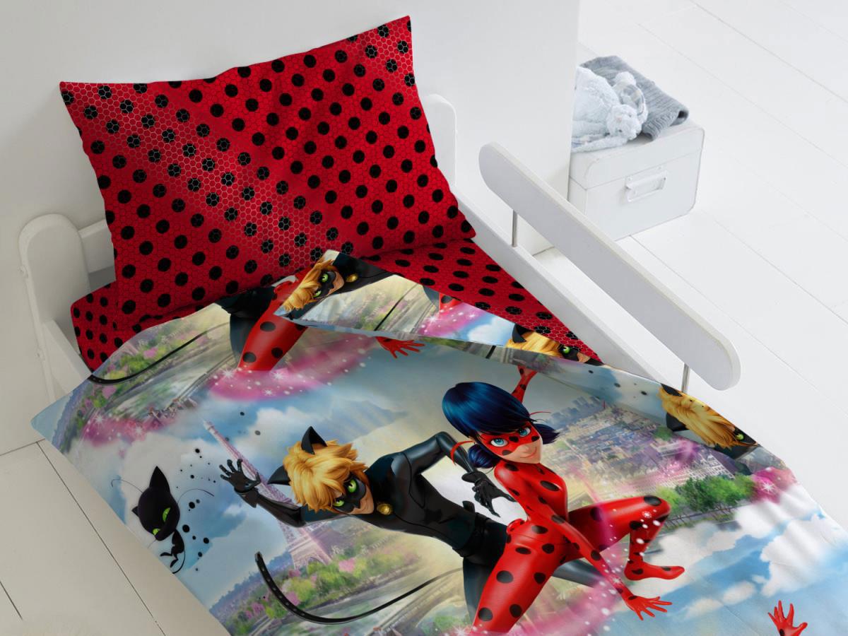 Комплект постельного белья Леди Баг и Супер Кот